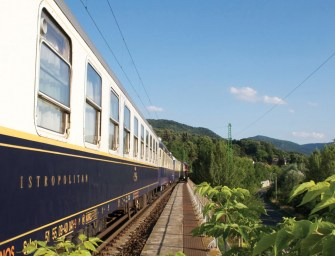Onboard The Luxury Train Links Hungary And Iran
