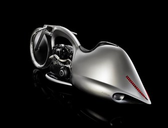 Akrapovic's 'Full Moon' Motorbike Is Out Of This World