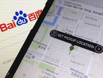 China's Baidu To Invest in Taxi-Hailing App Uber