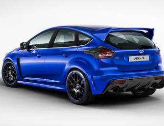 2016 Ford Focus RS Pricing And Options Leaked