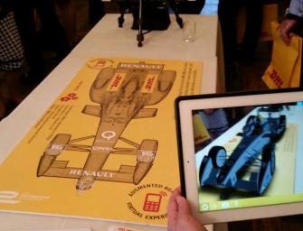 #DHLFormulaE   Augmented Reality Fan Experience