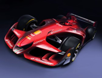 Ferrari's New Concept: An F1 Car Can Be Both Technological & Sexily Aggressive