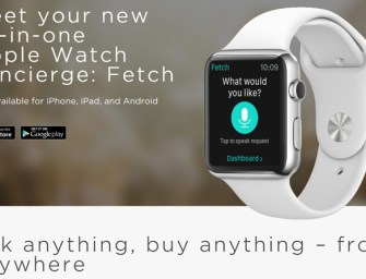 Fetch- Your Personal Shopping Assistant Is Here