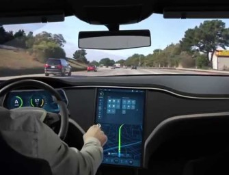 Bosch Brings New UX Technology For Self-Driving To A Tesla Model S