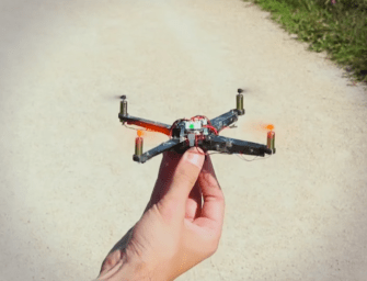 Swiss Researchers Invent Origami Drone