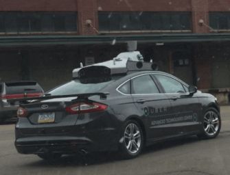 The First Image of Uber's Self Driving Car