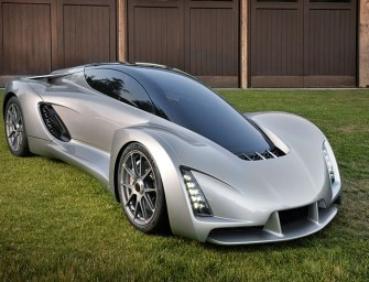 The Future Of Car Making: World's First 3D Supercar Is Unveiled