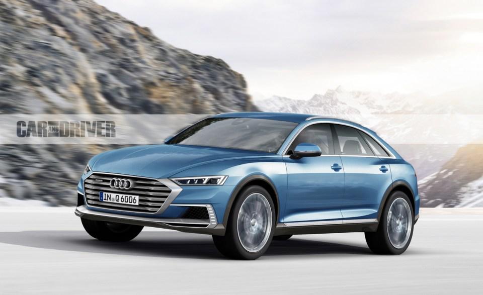 2018 Audi Q6 (artist's rendering)