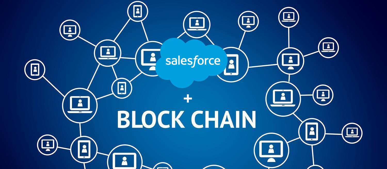 Resultado de imagem para salesforce blockchain