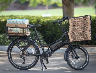 CERO Launches Electric Cargo Bike in Aim to Make Car-Free Living