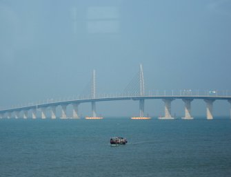 China Is Opening The World's Longest Sea Bridge