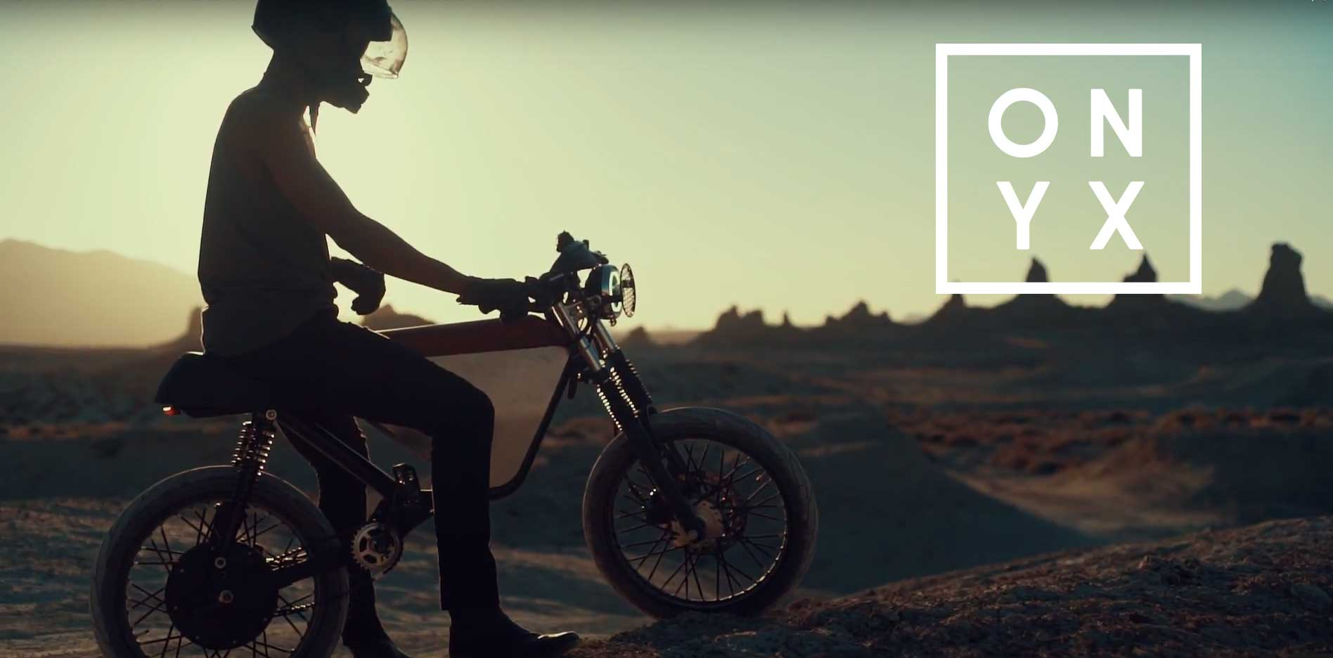 Mopeds are back! ONYX Motorbikes Indiegogo campaign is now