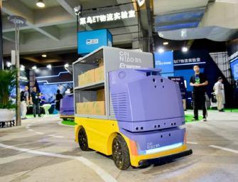 Alibaba's New Driverless Robot Delivers Parcels To Your Door