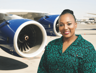Africa's Busiest Airport. Audience with Bongiwe Pityi