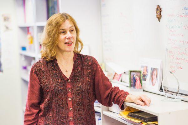 Professor Deborah Richards. Photo by Mike Catabay for Learning Innovation Hub