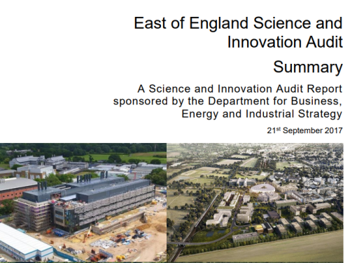 East of England Science and Innovation Audit