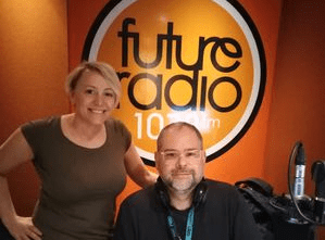 Podcast with Hayley Johnson at Future Radio Norwich