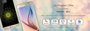 Jio for Samsung and LG