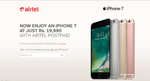 airtel-iphone-7-offers