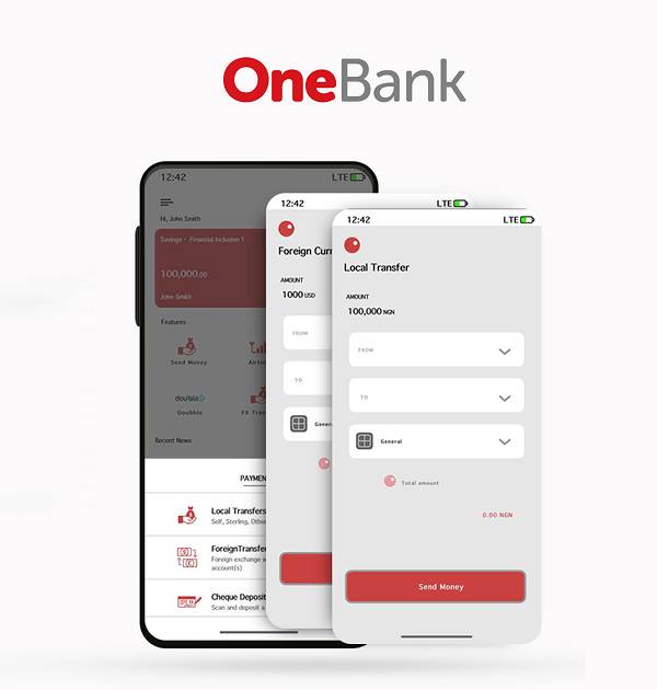 OneBank App by Sterling Bank