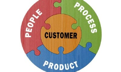 people, product, and customers