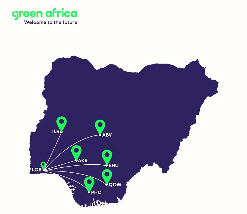 Green Africa route