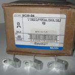 PPC/BELDEN Aluminum U Dual Cable Clips Box of 500pcs