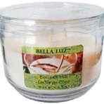 Bella Luz Coconut Milk Triple-Wick 10oz Candle