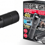 ITEK Megalight Military Grade Tactical Led Aluminum Flashlight