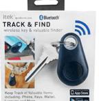 ITEK™ TRACK & FIND BLUETOOTH® WIRELESS KEY & VALUABLE FINDER