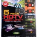 5PC HDTV HOOK-UP KIT
