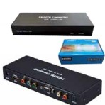 HDMI TO VGA + OPTICAL (SPDIF) OR HDMI TO COMPONENT (YPBPR) + R/L + OPTICAL (SPDIF) CONVERTER