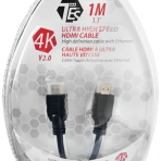 1M TES ULTRA HIGH SPEED 4K HDMI V2.0 CABLE WITH ETHERNET