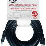 25'/7.6M TES ULTRA HIGH SPEED 4K HDMI V2.0 CABLE with ETHERNET