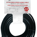 35'/10.7M TES ULTRA HIGH SPEED 4K HDMI V2.0 CABLE with ETHERNET