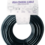 50'/15.2M TES RG6 COAXIAL CABLE