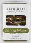 2.5 Oz 6PK Fragrance Melts – Sara Beth Soy-Based Spring Moss