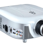 NEW Pyle PRJD907 Widescreen LED Projector with 140 in. Viewing Screen
