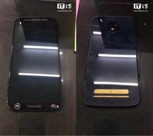 Moto Z3 Play Leaks