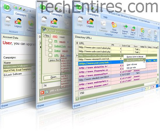 Directory Submitter Tool