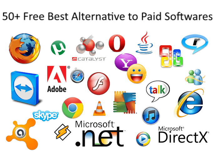 50+ Free Best Alternate to Paid Software