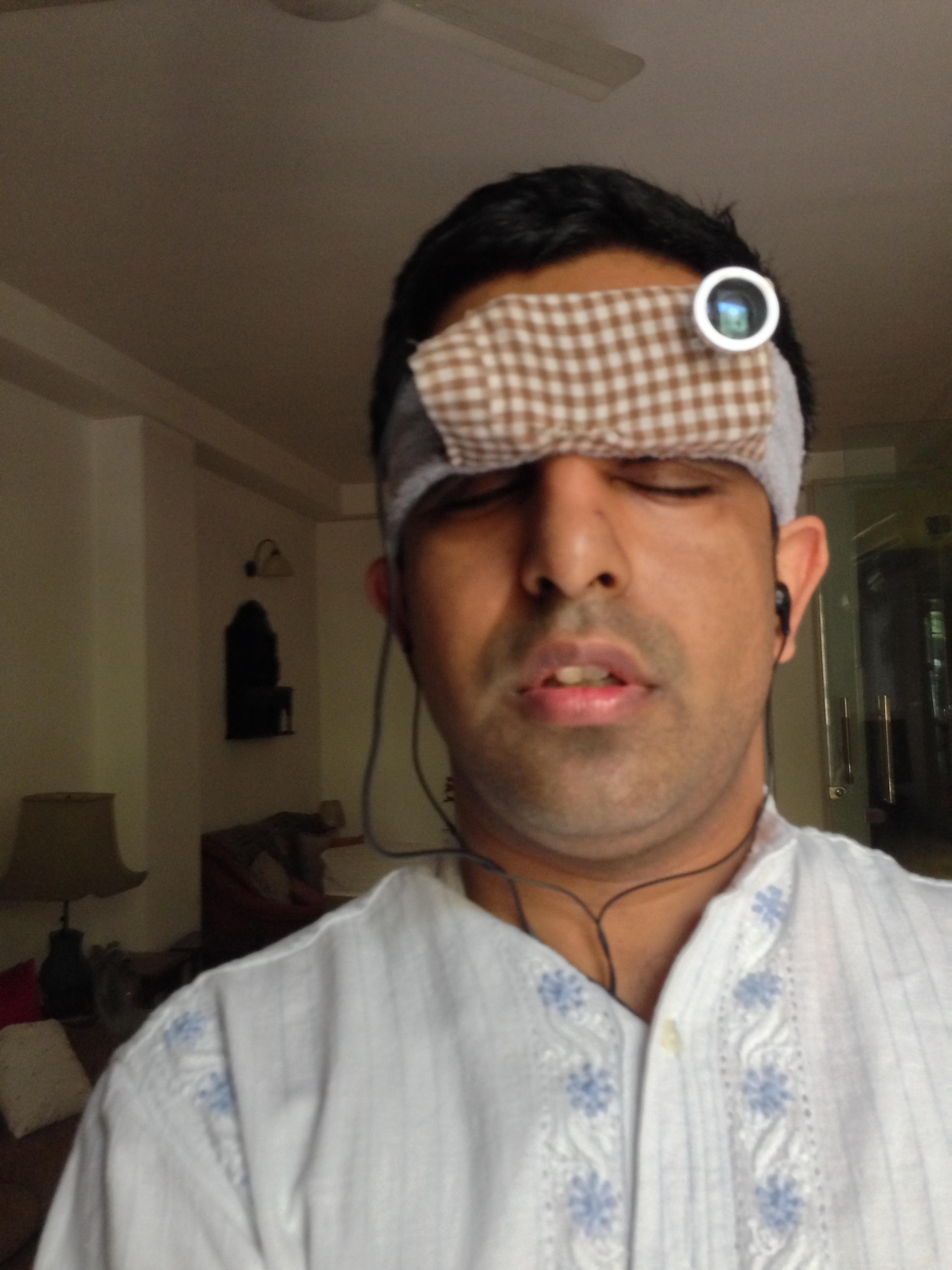 PranavLalHeadBandMobilePhoneSetup