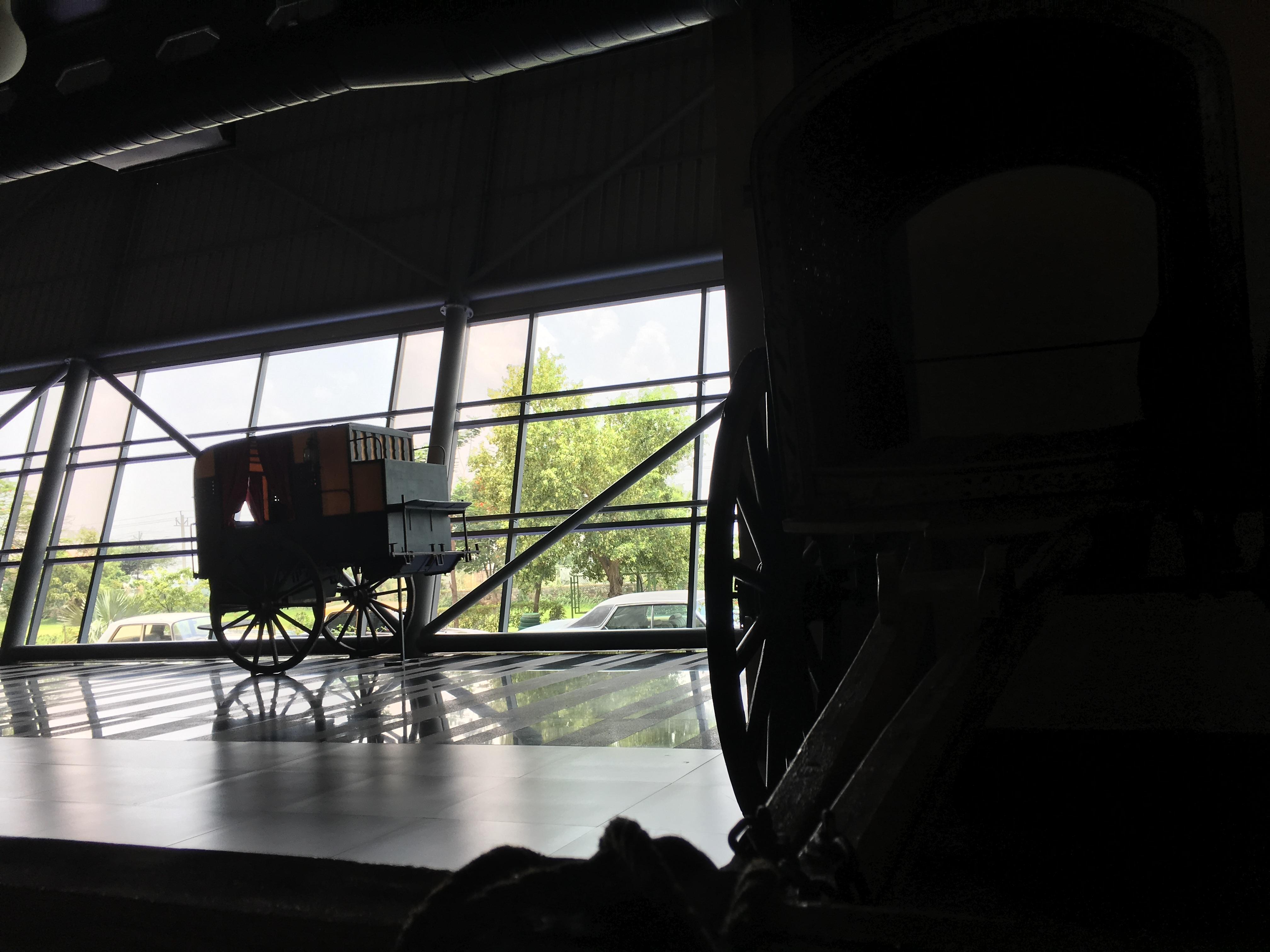 An archaic carriage