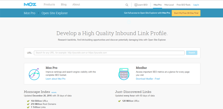 moz Top 15 Most Recommended SEO Tools!