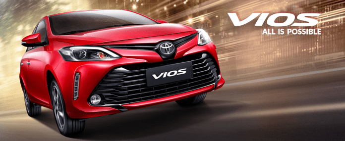 2017 Toyota Vios Launched in Thailand