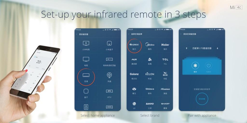 Xiaomi Mi4c Infrared Remote