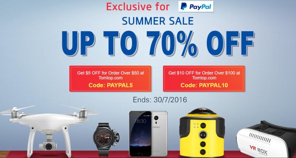 TomTop Summer Sale