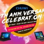CHUWI 12th Anniversary Tablet Sale – WIN FREEBIES