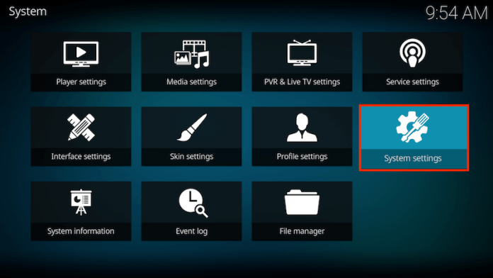 Enable Unknown Sources On Kodi 17 Step 2