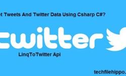 Get Tweets And Twitter Data Csharp C#?
